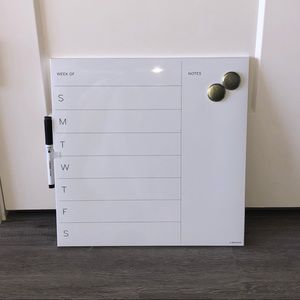 Other - Weekly calendar - dry erase board